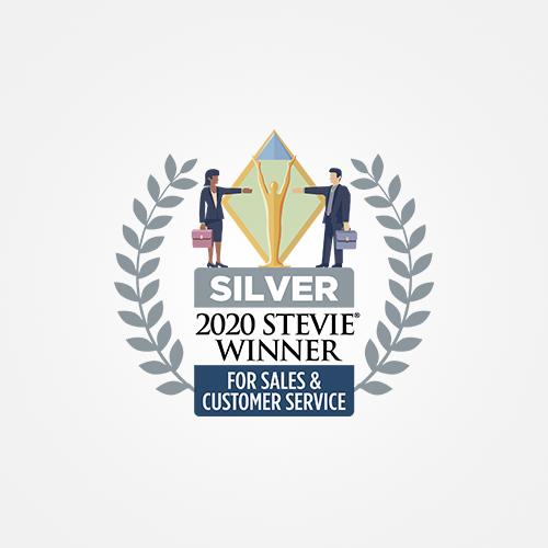 Stevie-2020-Sales-Customer-Service-Silver-Award-500x500