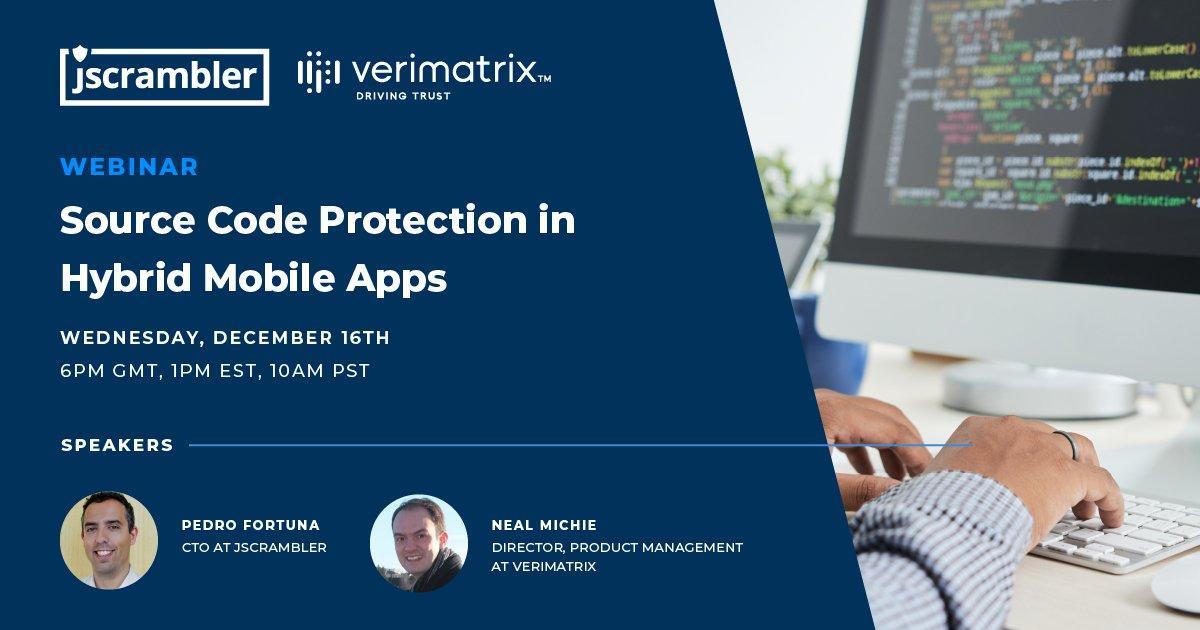 verimatrix Webinar Source Code Protection in Hybrid Mobile Apps image