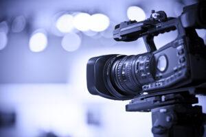 Content producer creating premium video