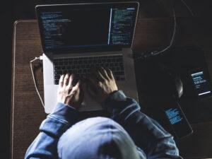 hacker stealing video game intellectual property